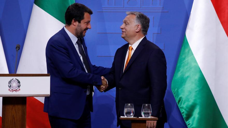 """Orbán, Salvini y Morawiecki buscan una """"nueva alianza de derechas"""" en Europa"""