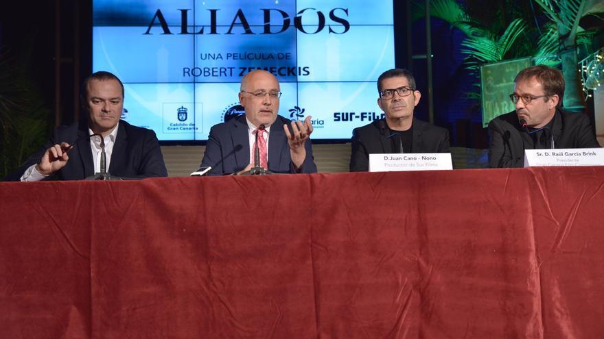 Presentación de 'Aliados' en Gran Canaria
