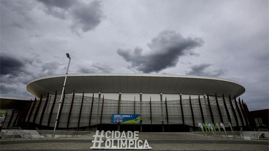El Arena Carioca 1, construido para las olimpiadas y situado en el Parque Olímpico