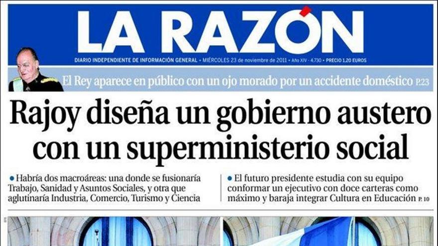 De las portadas del día (23/11/2011) #9