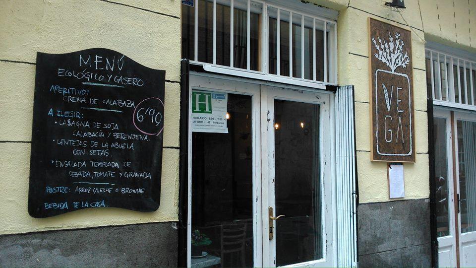 Primer menú del día que sirvió el restaurante | VEGA