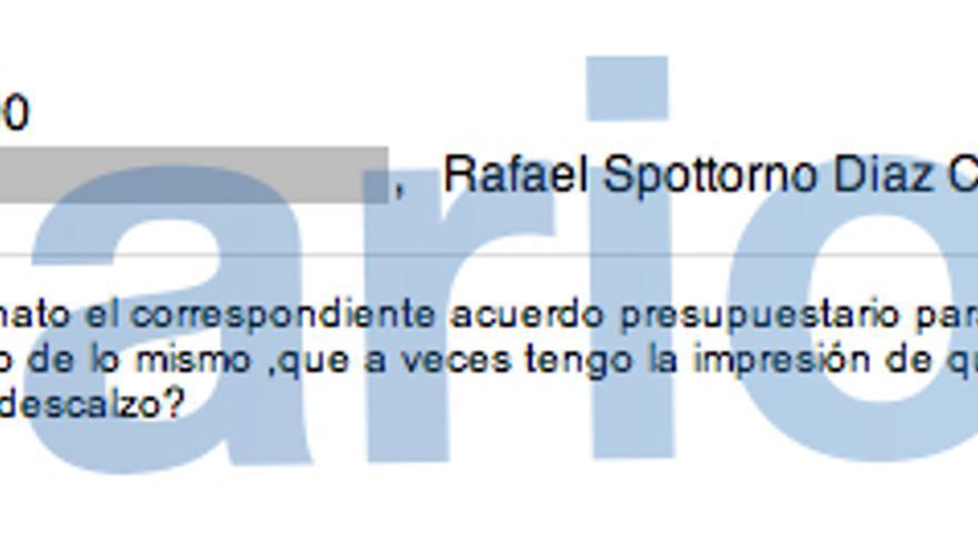 Correo enviado por Miguel Blesa a sus colaboradores sobre el centro de la London School of Economics en Madrid