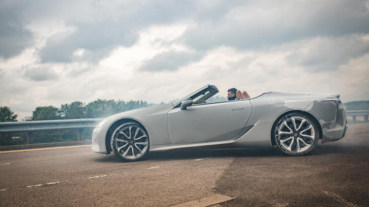 El Lexus LC Cabrio.