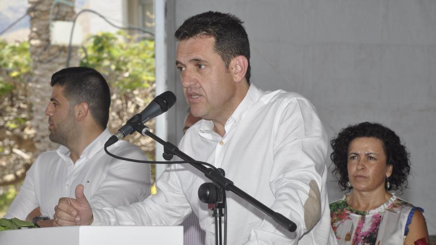 El candidato a la Presidencia del Cabildo, Jaime Noda