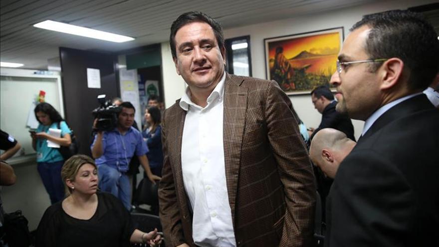 Prisión preventiva para el exsecretario presidencial de Guatemala