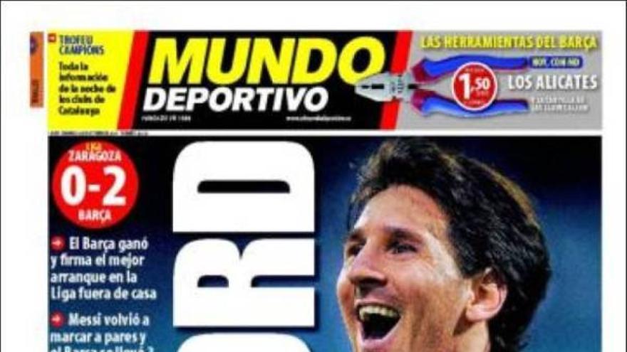 De las portadas del día (24/10/2010) #15