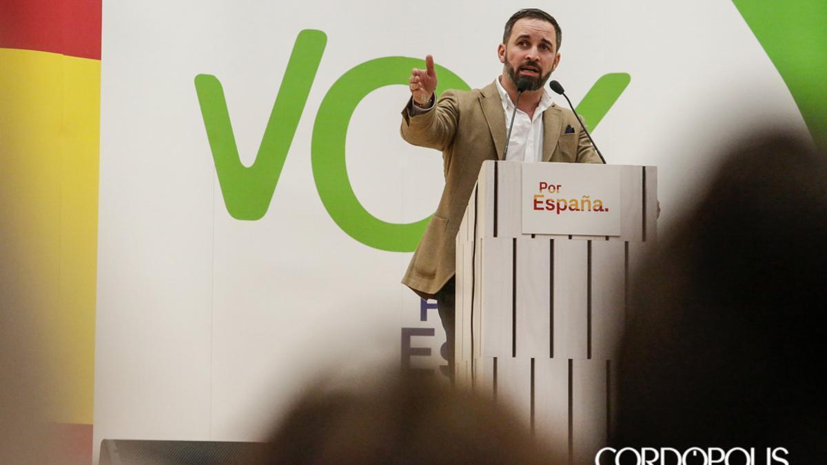 Mitin de Vox y Santiago Abascal en Córdoba