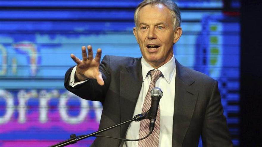 """Blair advierte de que una frontera """"dura"""" en Irlanda sería algo """"desastroso"""""""