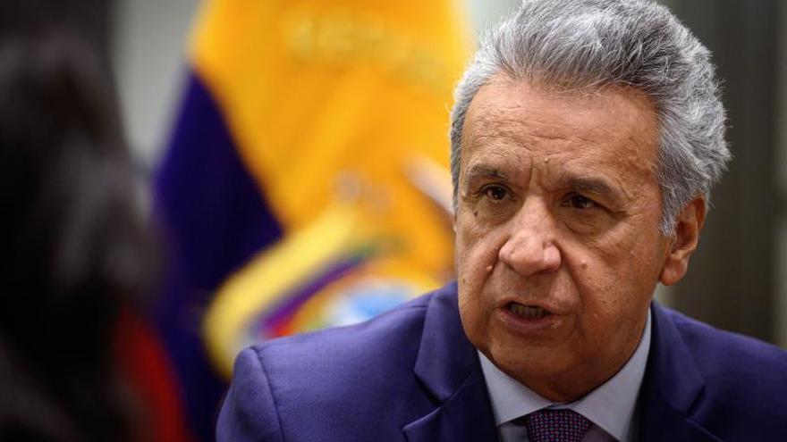 El Presidente de Ecuador irritado por la denuncia de abusos en las protestas de octubre