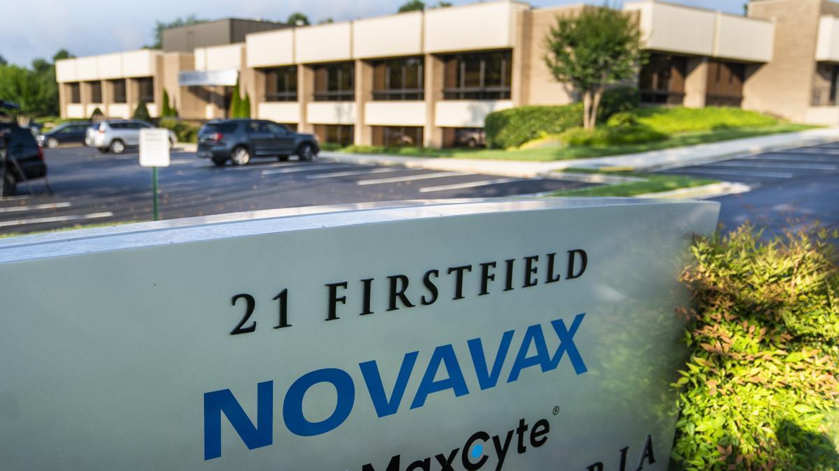 Sede de Novavax Inc. en Gaithersburg, Maryland.