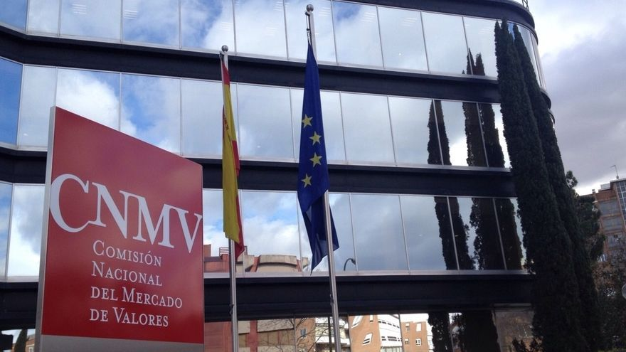 Sede de la Comisión Nacional del Mercado de Valores (CNMV), en Madrid. / EUROPA PRESS