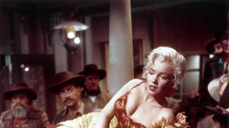 Marilyn Monroe en 'Río sin retorno'