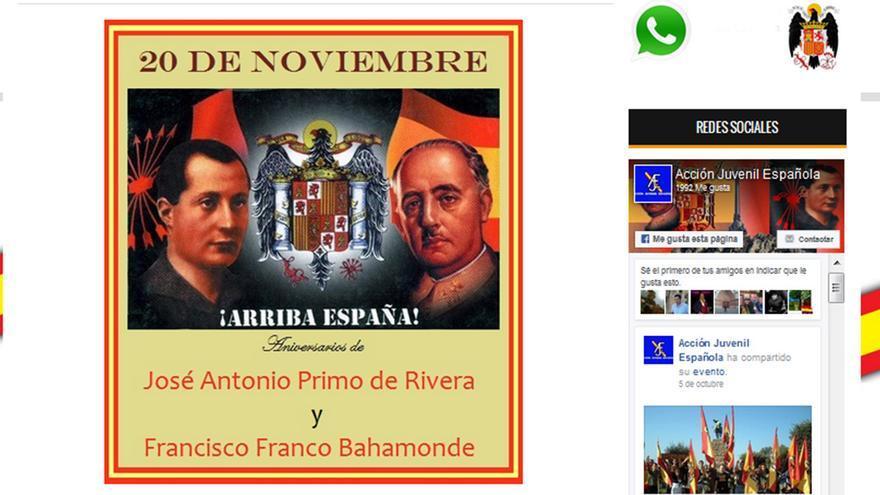 Misas en honor a Franco, escenario recurrente cada 20N.