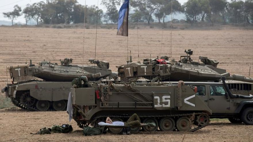 Seis palestinos muertos en enfrentamiento con fuerzas israelíes en Gaza