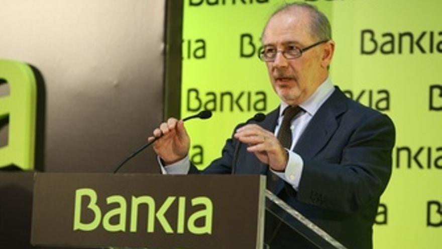 El Presidente De Bankia, Rodrigo Rato En El Debut De Bankia