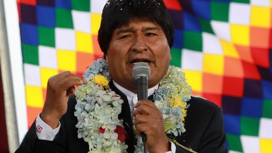 """Evo Morales dice que ha puesto """"en su lugar"""" a Chile"""