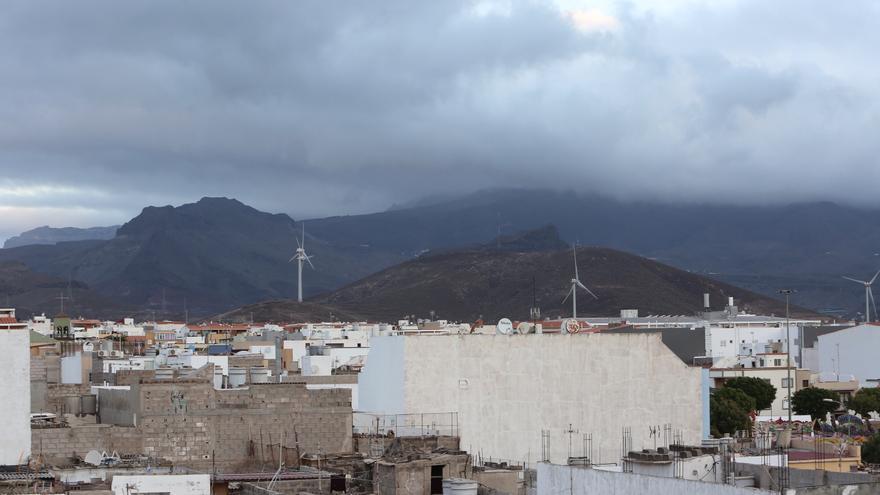 Cielos cubiertos en Gran Canaria
