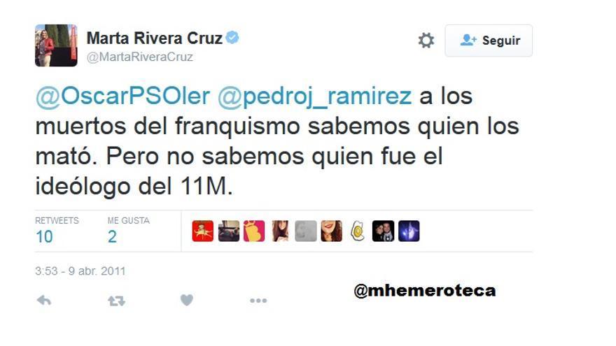 Marta Rivera de la Cruz 11m