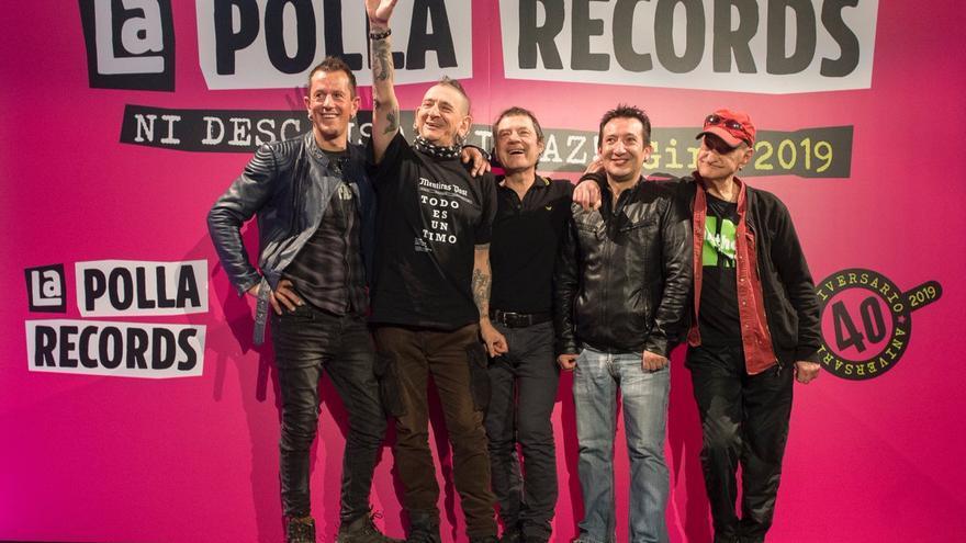 La formación de La Polla Records para el 40 aniversario