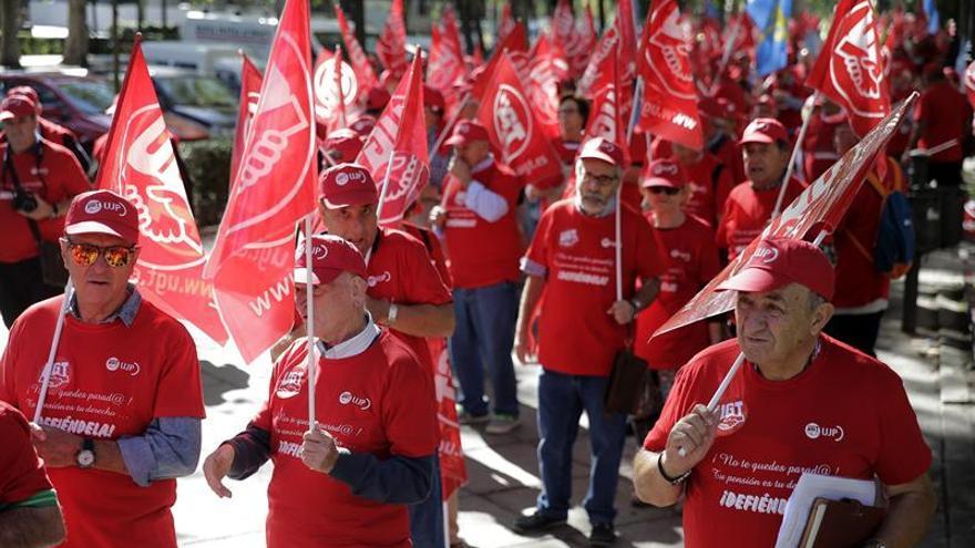 UGT denuncia que el 50 % de las pensiones está por debajo del salario mínimo
