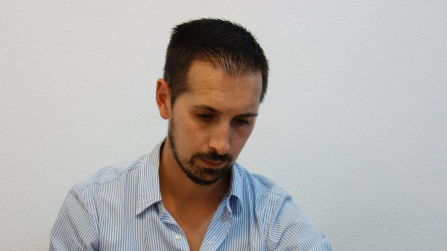 Rafael Paniza Morales, delegado sindical de la Asociación Profesional de Funcionarios de Prisiones