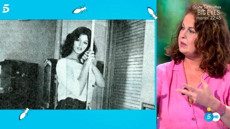 Carla Antonelli en el 'Hormigas Blancas' de Bibiana Fernández