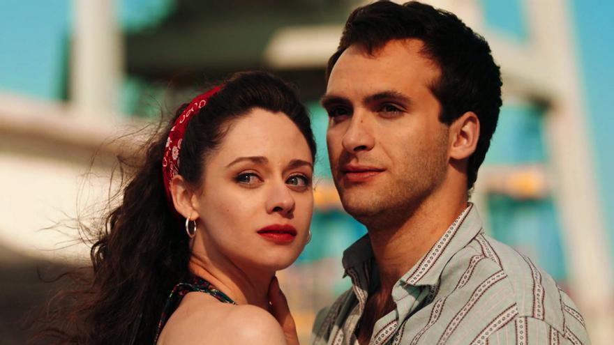 Elena Rivera y Ricardo Gómez en 'Cuéntame cómo pasó'