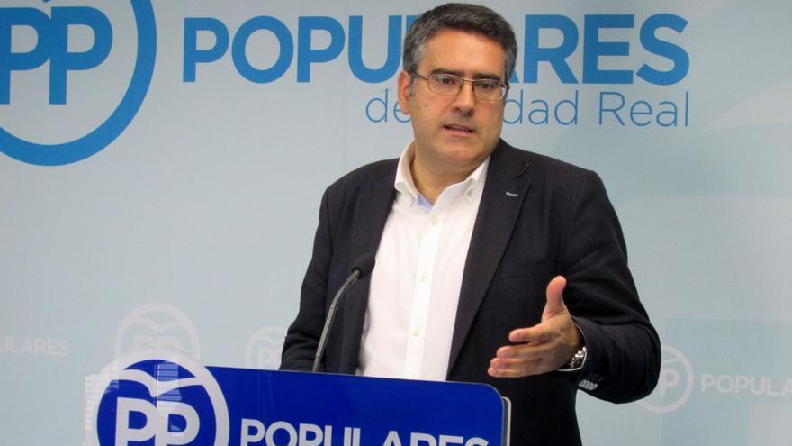 Miguel Ángel Rodríguez. Portavoz del PP en Ciudad Real