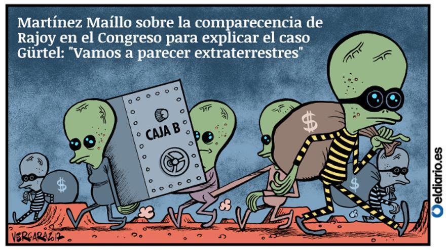 Los extraterrestres según el PP
