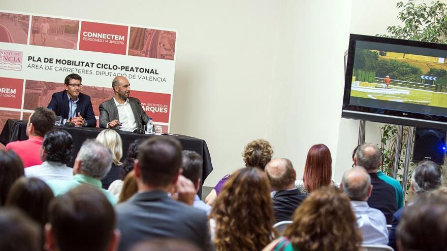 Jorge Rodríguez i Pablo Seguí han presentat el pla a la Diputació de València