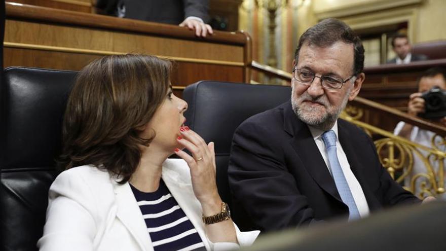 Sáenz de Santamaría considera que el acuerdo con C's va en la buena dirección