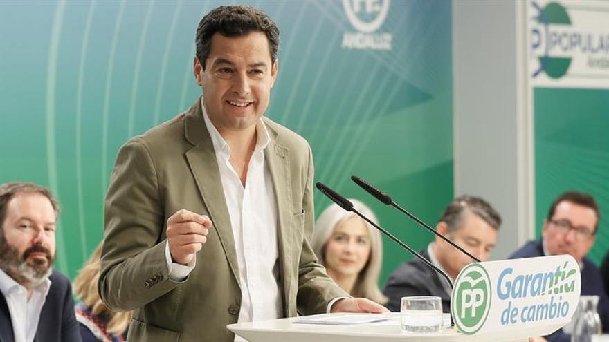 El PP andaluz renueva sus cabezas de lista con integración