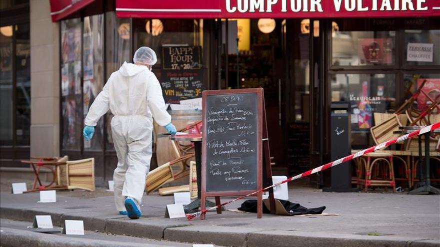 Estupor y miedo en el despertar de París