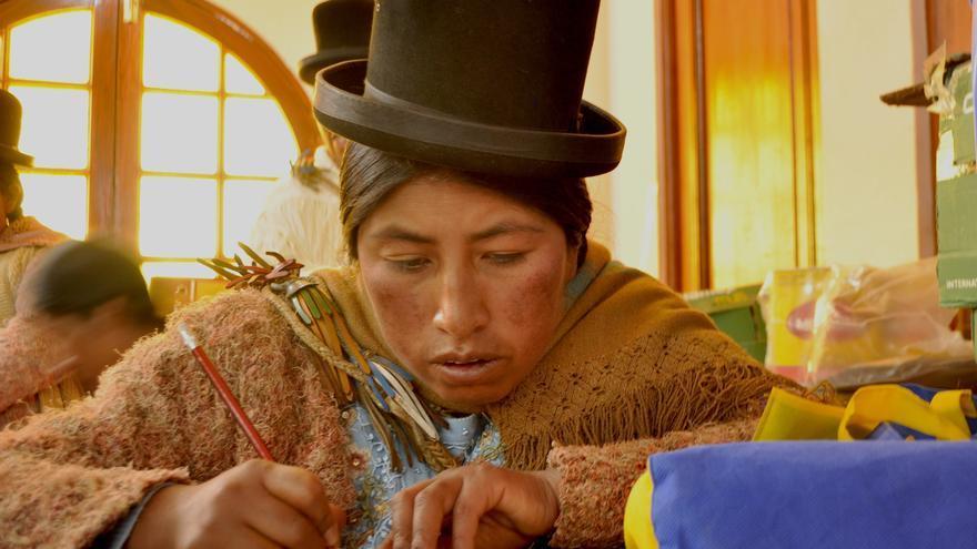 Mujere indígena en Bolivia / Alianza por la Solidaridad