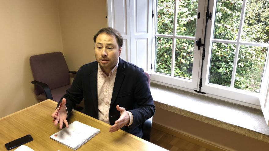 Jorge Gutiérrez, director general de Cooperación del Gobierno de Cantabria.