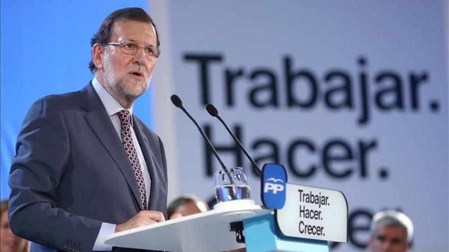 Rajoy afirma que los pactos de perdedores contra el ganador son un fracaso a la larga