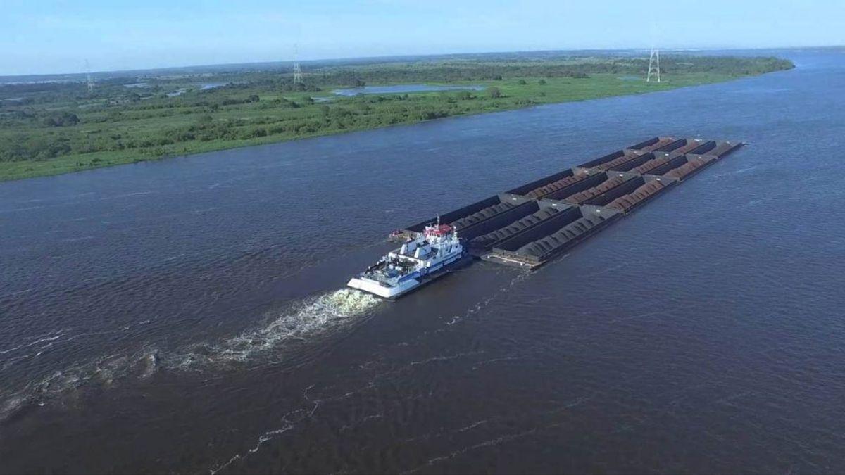 Por la Hidrovía sale el 75% de las exportaciones argentinas.