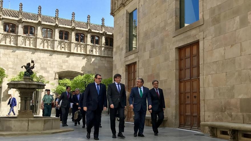 "El conseller Jané destaca el ""buen clima"" con Zoido e insiste en convocar 500 plazas para Mossos"