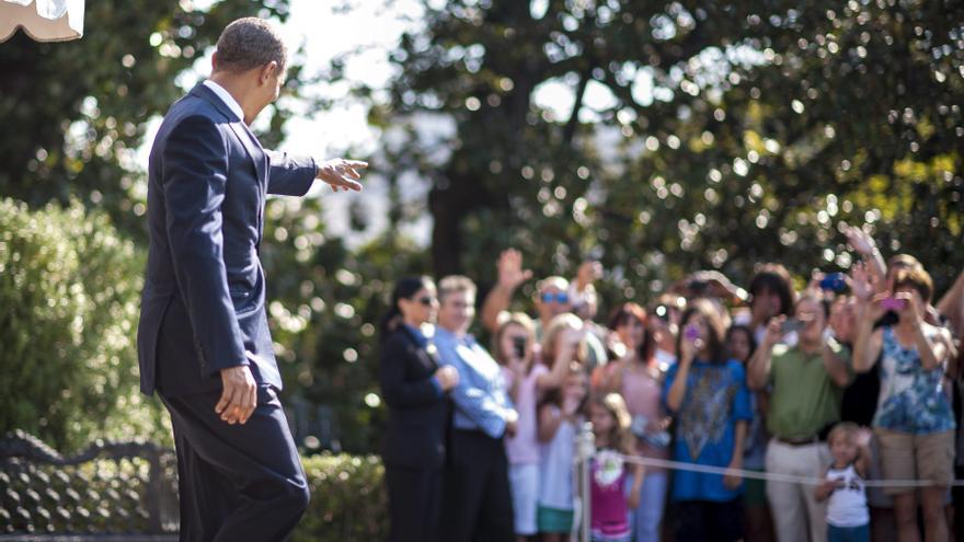 Obama no tuvo oportunidad de ver el discurso de Romney en la convención republicana