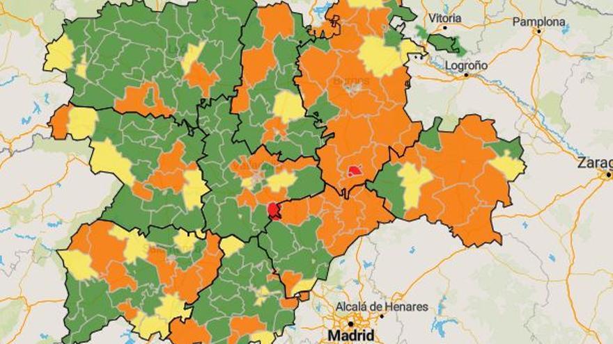 mapa cyl