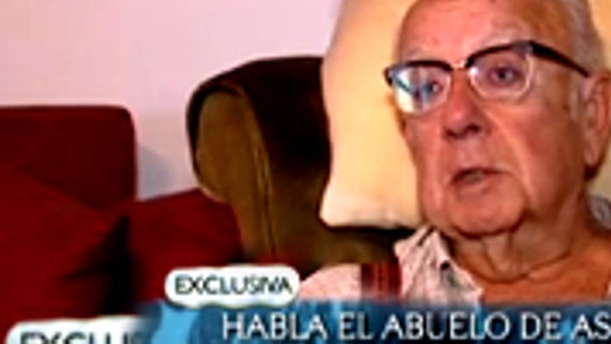 'Abre los ojos' a una entrevista exclusiva con el abuelo de la niña gallega