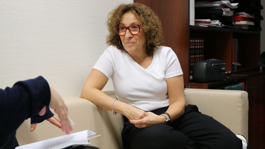 Amparo Burgueño, gestora UGT CLM