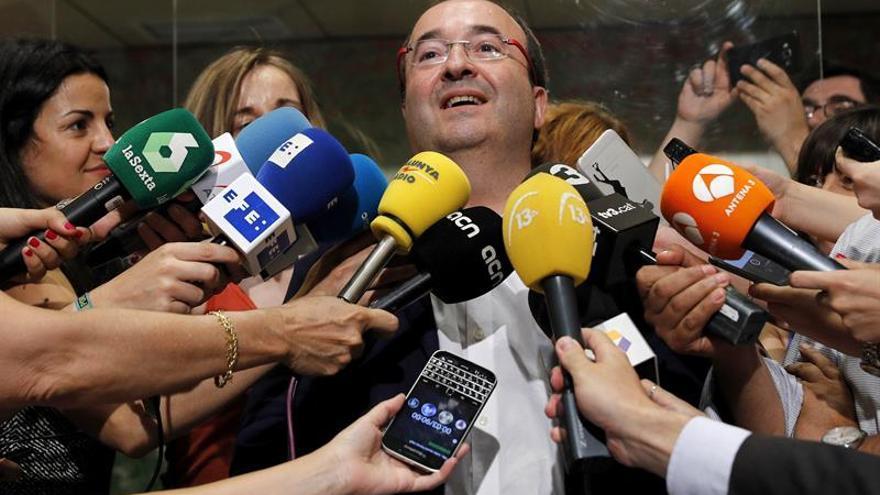 """Iceta (PSC) aboga por """"explorar otras posibilidades"""" si fracasa Rajoy"""