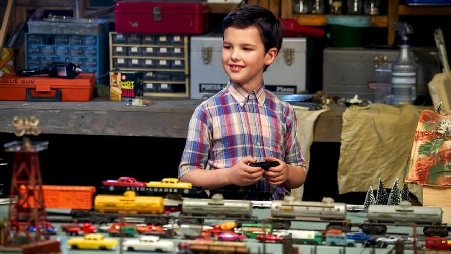 Iain Armitage, que interpreta al joven Sheldon Cooper