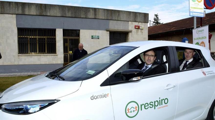 Palencia, pionera en el alquiler de coches compartidos con un modelo público-privado