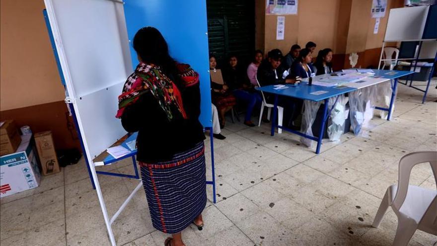 La autoridad electoral de Guatemala pide calma a falta de los resultados finales