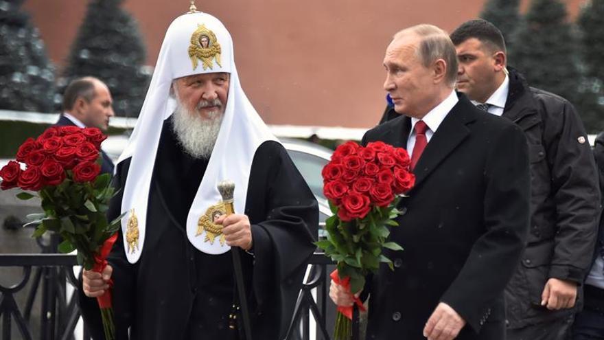 Putin inaugura monumento a Vladímir, el príncipe que cristianizó Rusia en 988