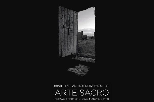 Cartel xxviii festival de arte sacro de la Comunidad de Madrid