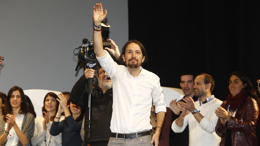 Podemos arranca la precampaña este domingo con un mitin de Iglesias en Barcelona bajo el lema '2015 Empieza el cambio'