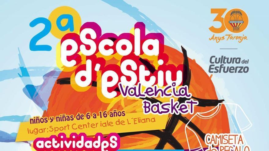 València Basket ha presentat la segona edició de l'Escola d'Estiu